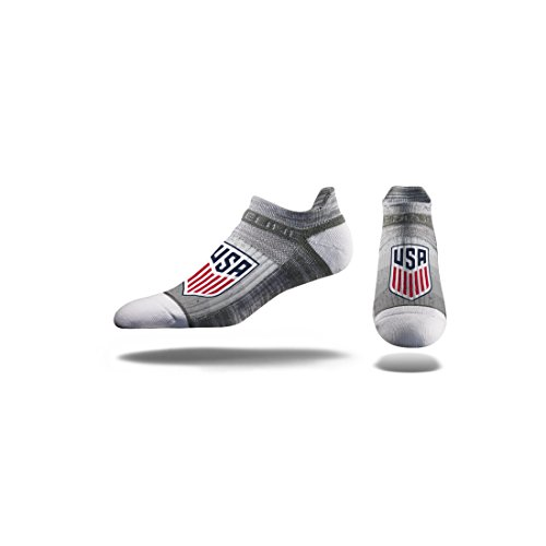 MLS US Soccer MLS Ankle Socks, Officially Licensed Mls Athletic Fan Socks. The Most Comfortable Sock On Earth. From Strideline. Loved By Soccer Fans Across Thes, Team Color