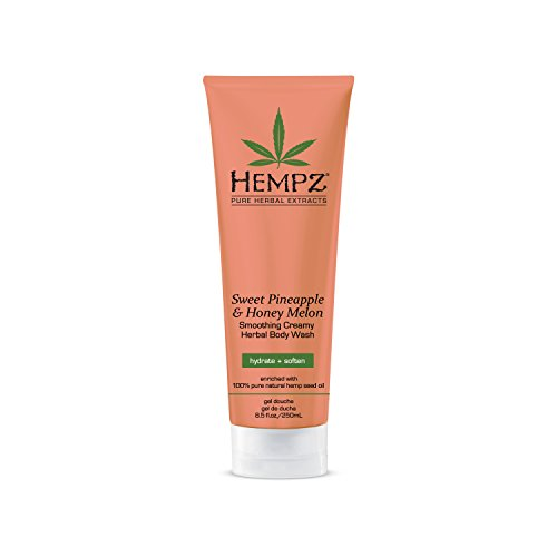 (Hempz Sweet Pineapple & Honey Melon Smoothing Creamy Herbal Body Wash 8.5)