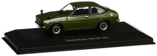 1/43 トヨタ スターレット1200SR 1973ブラックオリーブ KBI053の商品画像