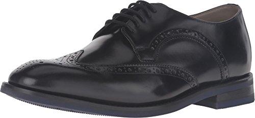 Clarks Mens Swinley Limit Black Leather