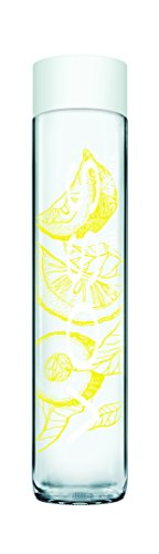 VOSS Artesian Sparkling Water, Lemon Cucumber, 375 ml Glass Bottles (Pack of 12)