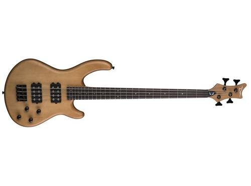 Dean E2 VN Edge 2 Bass Guitar, Vintage Natural
