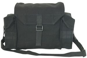Fox Outdoor Products South African Shoulder Bag, Black