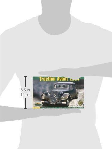 ACE 72273-1:72 Staff Car Traction Avant 11CV Neu