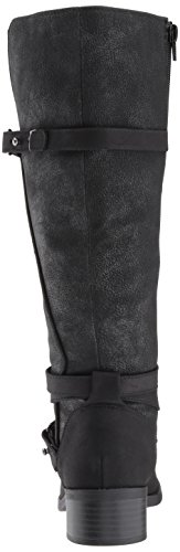 Black Boot Easy Carlita Shimmer Harness Street Women's Bx7U7XC