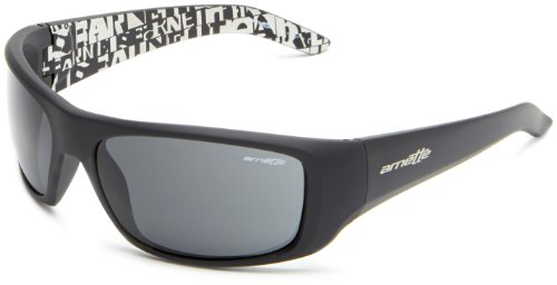 Black Noir Arnette soleil Shot Lunettes Gray Brown de Hot Havana Fuzzy pazqPp
