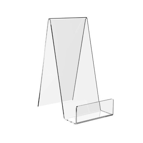 Displaypro 5x grande in acrilico trasparente leggio, ideale per libri, cellulari, piatti e altro ancora.–Spedizione gratuita.
