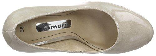 Tamaris Women's 22426 Platform Heels Brown (Pepper Patent 329) mRV9u