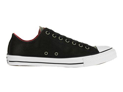 Zapatillas De Baloncesto Converse Unisex Chuck Taylor All Star Ox Fatigue Green / Black / Signal Red