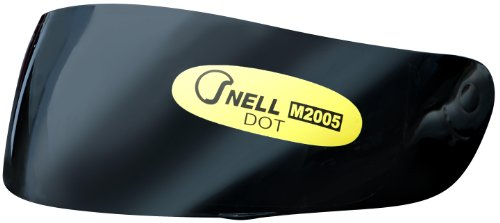Snell Dot - Wayloo Snell/DOT Approved Helmet Visor for Wayloo Helmets (Smoke)