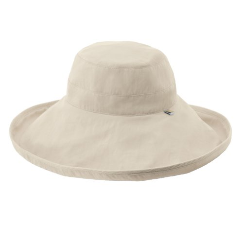 93bf1d3d7717a Solumbra Ultra-Wide Rolled Brim Hat - 100+ SPF Sun Protective - Buy Online  in Oman.