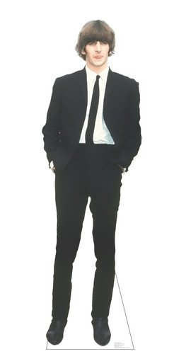 THE BEATLES RINGO STARR Lifesize Cardboard Standup Standee Cutout Poster Figure