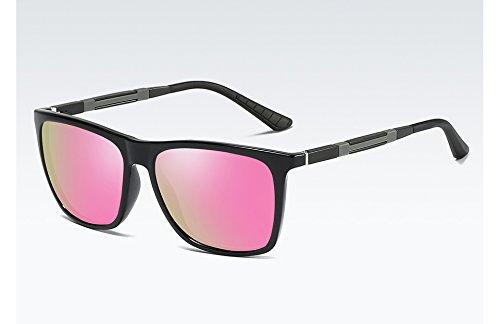 Alta Calidad Negro Gafas Nocturna de de Sol black Unisex de Visión de de Deportes Masculinas Gafas Mujeres Nuevas Sunglasses Hombres UV400 Sol pink TL polarizadas Gafas Gafas S7Pqw