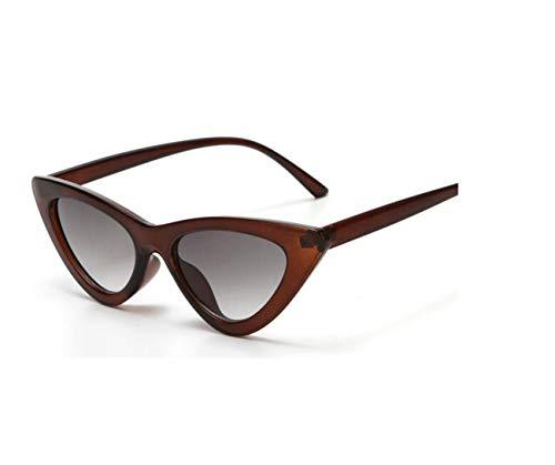 Cat Eye Sunglasses Women Cute Retro Sunglass Triangl Hot Sale Lady For Men ()