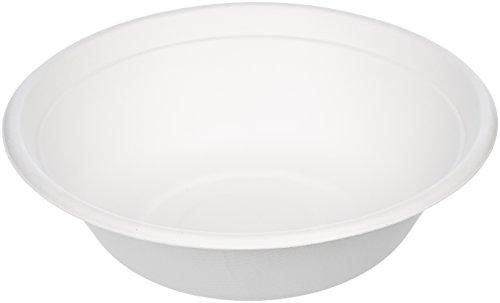 AmazonBasics 32 oz. Compostable Soup Bowls, -