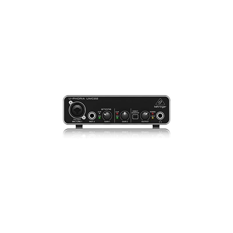 behringer-audio-interface-umc22