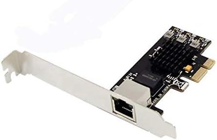 YDong Pci-E 2.5G Adaptador de Red Ethernet de Puerto /úNico Pci-E X1 2.5G LAN Card Rtl8125 Admite el Modo 2.5G Y1G Lite