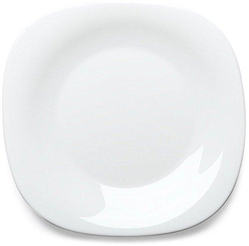Bormioli Rocco Parma Dinner Plates, Set of 6, White ()