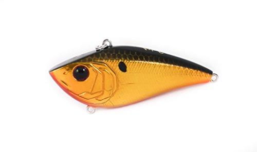 Lipless Crankbait Custom Fishing Lure (Gold Reactor) ()