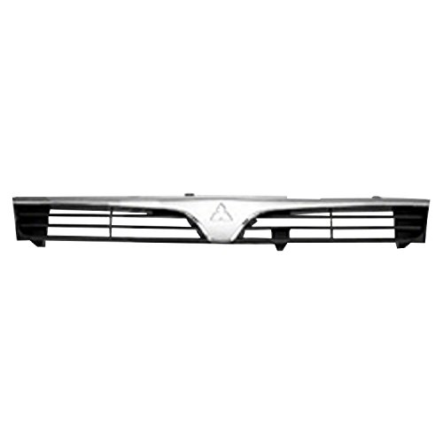 Chrome Front Grille Assembly for 1997-2001 Mitsubishi Mirage MI1200214 ()