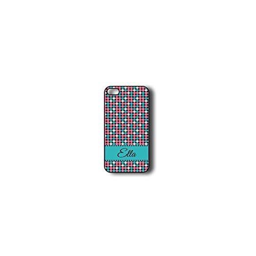 Krezy Case Monogram iPhone 5s Case, colorful polka dots Monogram iPhone 5s Case, Monogram iPhone 5s Case, iPhone...