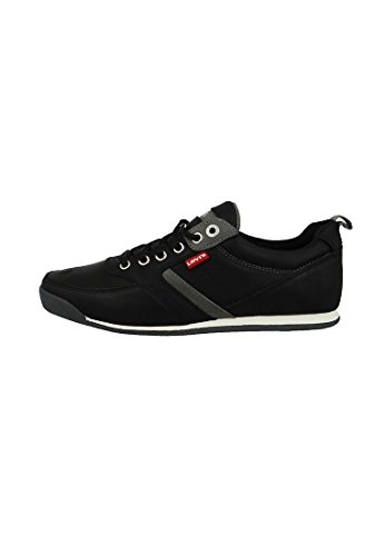 Levis Formadores Capistrano raya regular Negro Negro - 224651-794-59, Levi´s Schuhe Herren:41