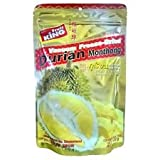 Fruit King Freeze-dried Durian, Durian Chips, Freeze-dried Fruit Snack Unsweetened and 0% Fat, Real Healthy Snack 30g. (Pack2)