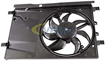 Radiator Fan 335 mm Fits ABARTH Grande Punto Hatchback FIAT 2005-