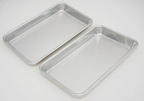 Libertyware SP610 Eigth Size Aluminium Sheet Pan, Pack of 2