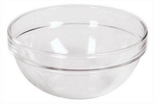 Paderno World Cuisine 5-3/8-Inch Glass Bowl