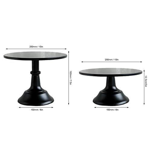 Buy black cake stand 12 inch