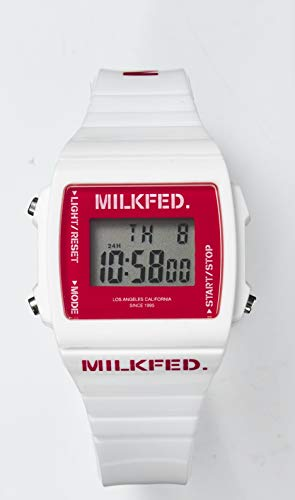 MILKFED. DIGITAL WATCH BOOK WHITE 画像 C