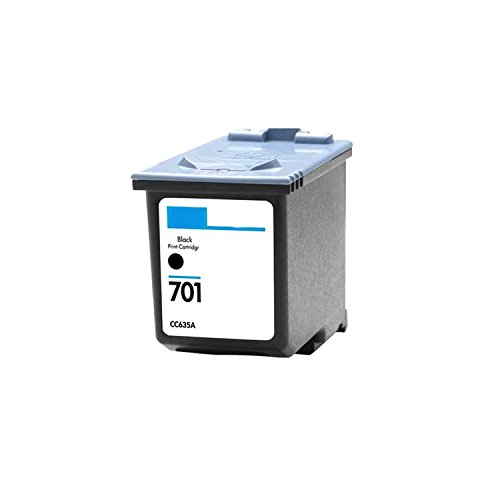 Remanufactured Ink Cartridge Replacement for HP 701 CC635A (2 Black) Photo #2