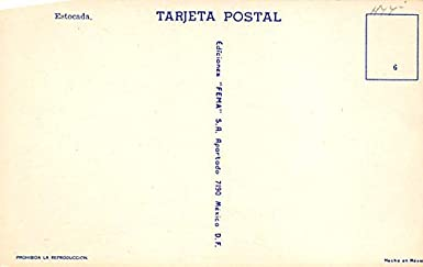 Estocada Tarjeta Postal Bullfighting Unused at Amazons ...