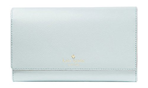 Kate Spade New York Mikas Pond Phoenix Trifold Leather Wallet (Island Waters) by Kate Spade New York