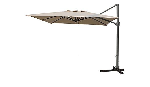 PROSIMEX COMPANY LIMITED M115795 - Parasol Aluminio Mini Electra almar 3x3 m Crudo: Amazon.es: Jardín