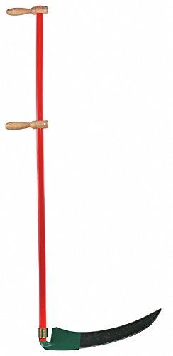 Leborgne 275551 Faux à broussaille 55 cm avec manche en Métal ...