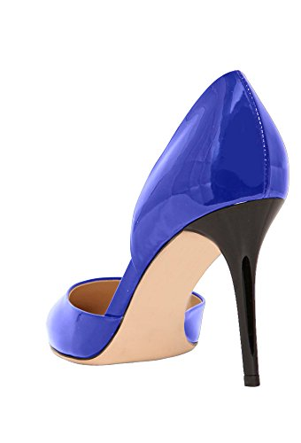 Guoar - Cerrado Mujer - Blau Lackleder