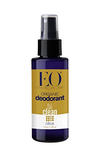 EO Organic Deodorant Spray, Citrus, 4