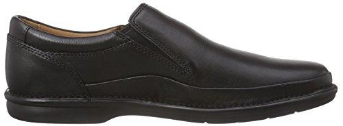 Clarks Butleigh Free - Zapatos de vestir (sin cordones), Hombre, color negro Negro (Black Leather)