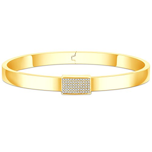 14k Engraved Bangle (Fancilla Idiom Bangles