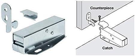 Drehriegel chrome loquet verrou fermeture de caisses Loquet Placard Loquet 10-23