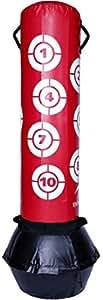 TA Sport Power Tilt Freestanding Punchbag PA-2188B Air Cham, Red