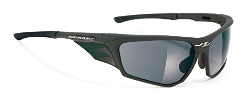 Rudy Project ZYON MATTE BLACK FRAME WITH POLAR 3FX GREY LASER - Rudy Zyon Project Sunglasses