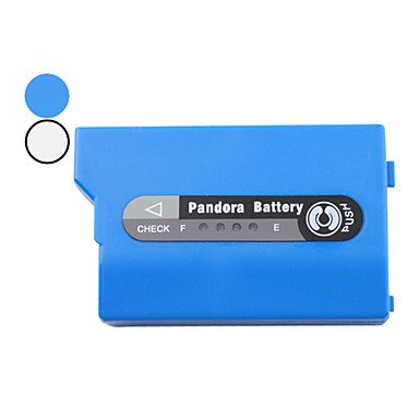jun Pandora Li-ion Battery Pack with Indicator Light for PSP 2000 (1200mAh, 3.6V) , Blue ()
