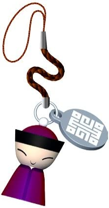 Alessi Mr. Chin Cell Phone Charm by Stefano Giovannoni Color: Red