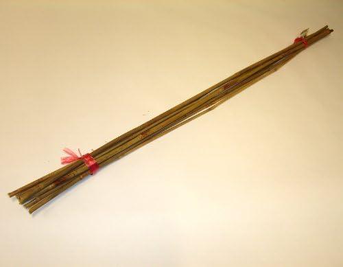 Tonkin Bambusstock Bambustab Bambus Holzstab Pflanzstütze Rankstab Rankhilfe Stab Pflanzstab 90 cm, 4x10 Stk.
