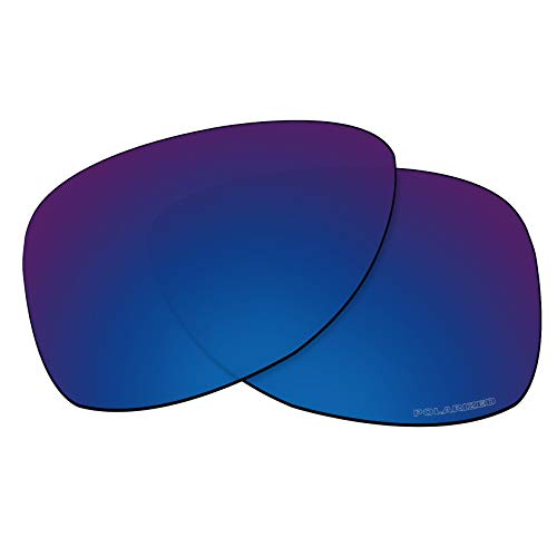 OOWLIT Replacement Lenses Compatible with Oakley Dispatch 2 Sunglass Sapphire Combine8 ()