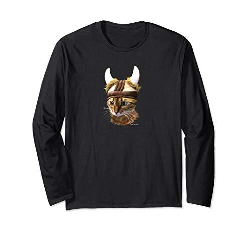 Original Viking Cat Norwegian Kitty Tank Bengal T-shirt Long Sleeve T-Shirt