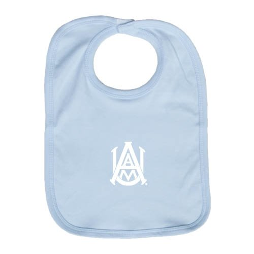 Alabama A&M Light Blue Baby Bib 'Official Logo' by CollegeFanGear